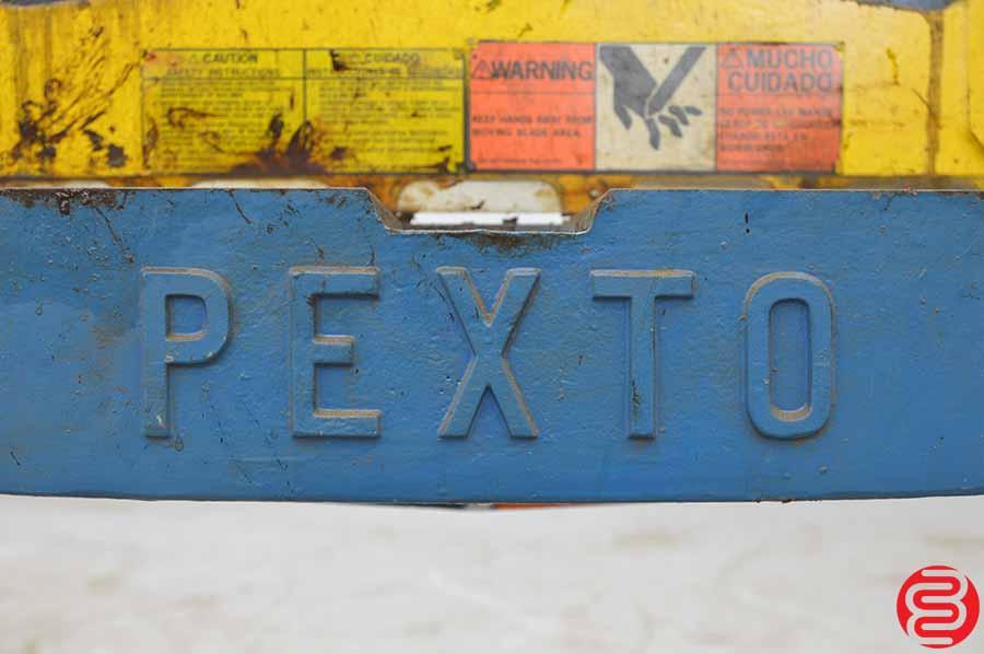 Pexto Roper Whitney 52 Inch 16 Gauge Foot Shear
