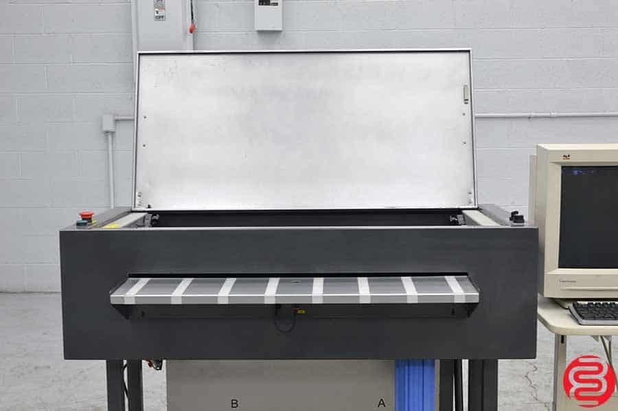 Presstek Anthem AWW-850 Platewasher w/ Rip