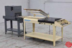 Renco Renwrap Shrink Wrap System w/ Heat Seal Tunnel