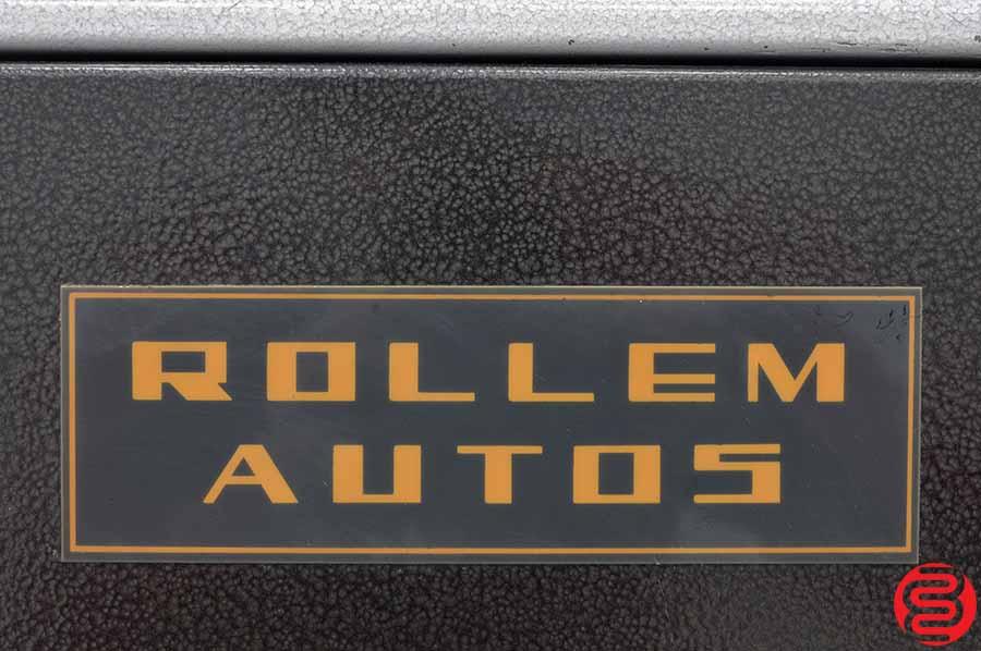Rollem Auto 5 Perf Slit Score Numbering Machine