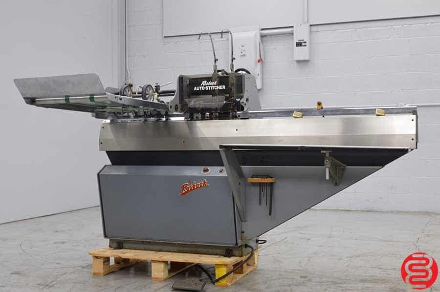 Rosback 201 Book Binding Saddle Stitcher