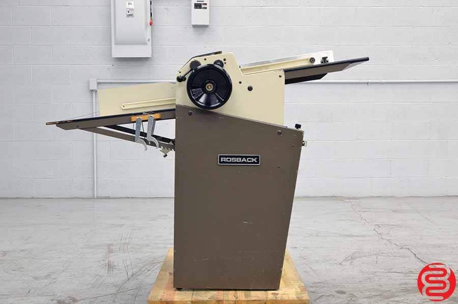 Rosback Model 220A True Line Perf Slit Score Crease Machine