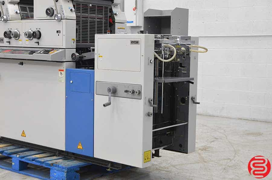 Ryobi 3302M Two Color Offset Printing Press w/ Crestline Dampening System