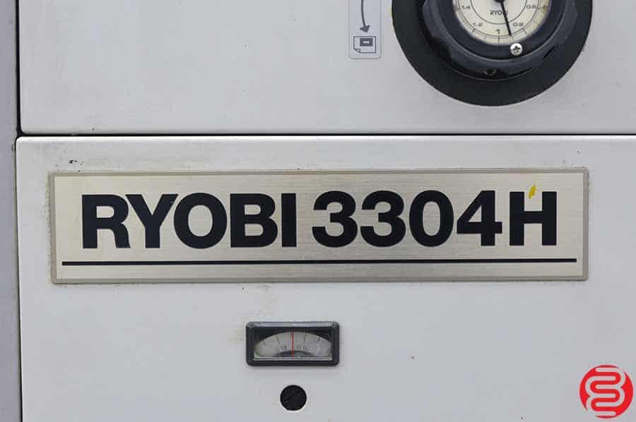 Ryobi 3304H Four Color Offset Press