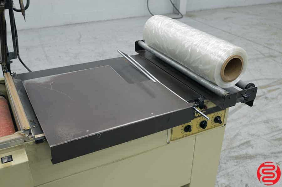 Sergeant Simpulse Shrink Wrap System w/ L-Bar Sealer and Heat Tunnel