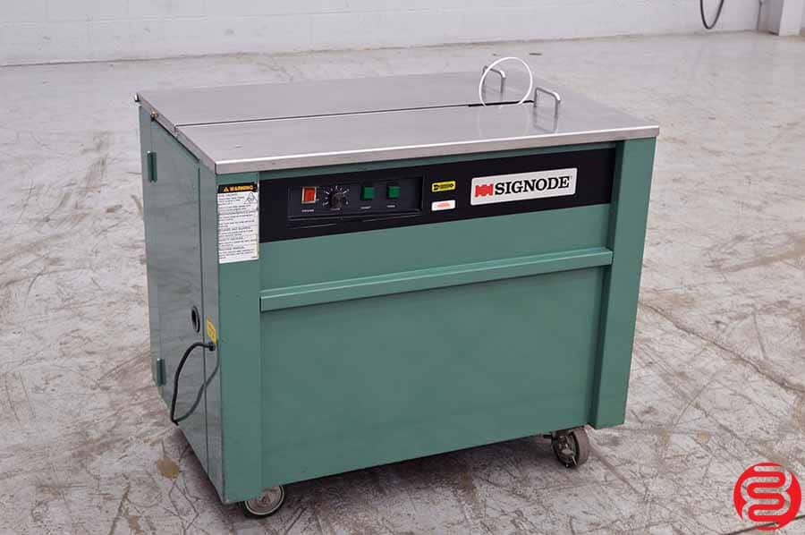 1996 Signode MST Semi-Automatic Strapping Machine