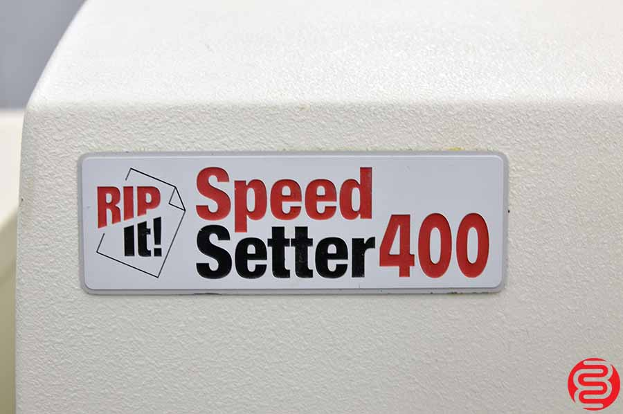 Speed Setter 400 Computer to Plate System w/ Rip and Plate Washer