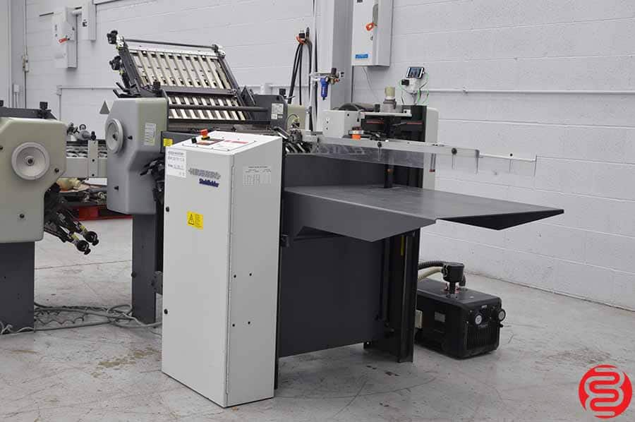 Stahl B20 Pile Feed Paper Folder w/ 8 Page Return and Mobile Delivery