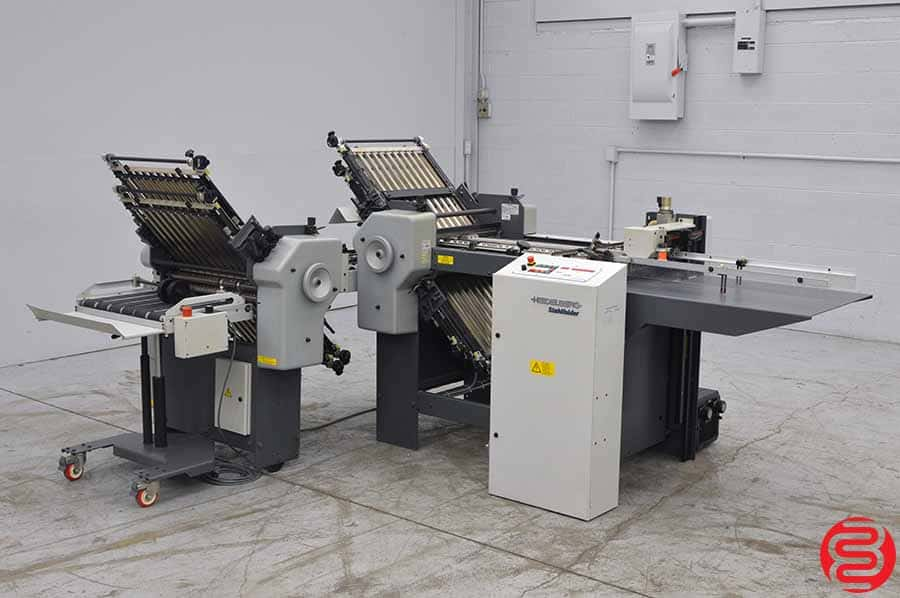Stahl B20 Pile Feed Paper Folder w/ Roll Away Delivery