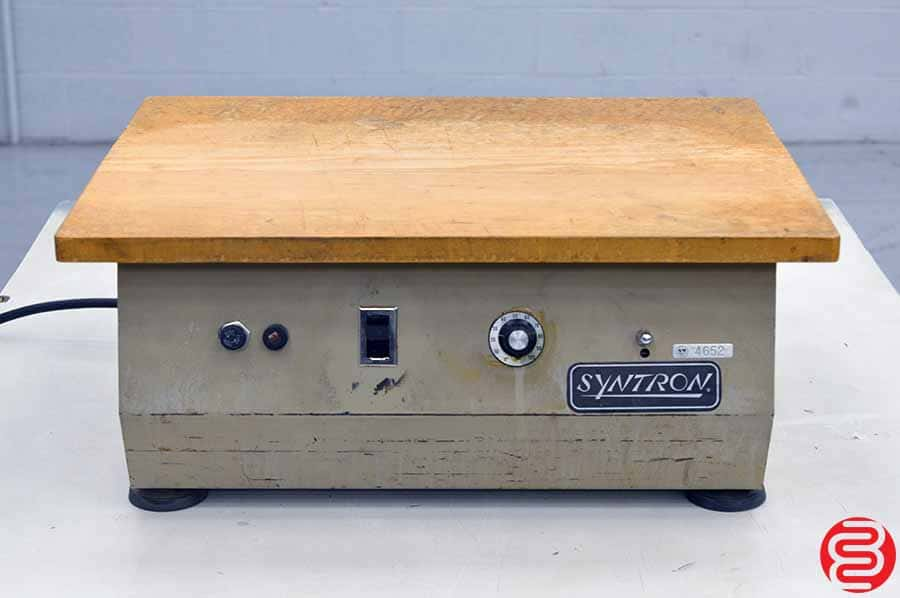 Syntron J2-B Flat-Top Paper Jogger