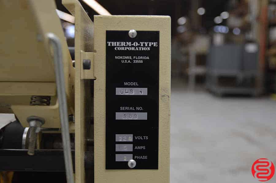 Therm-O-Type GLS-4 Business Card Slitter