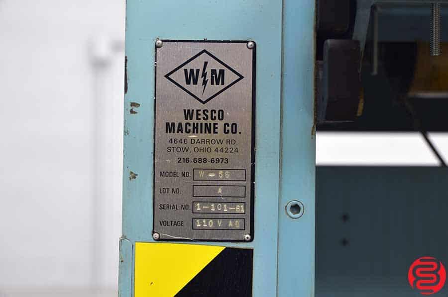 "Wesco W-56 Double Sided 54"" Roll Laminator"