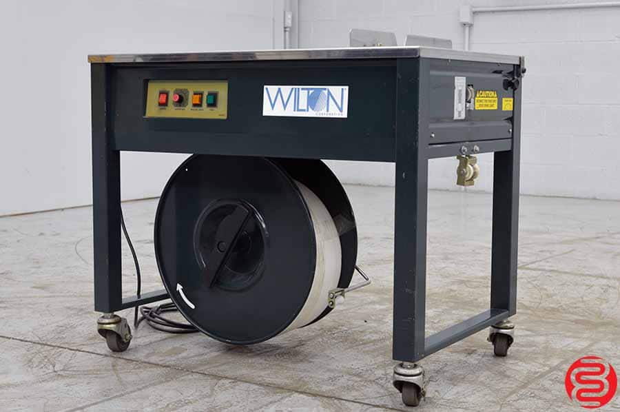 1996 Wilton SP-4 Semi-Automatic Strapping Machine