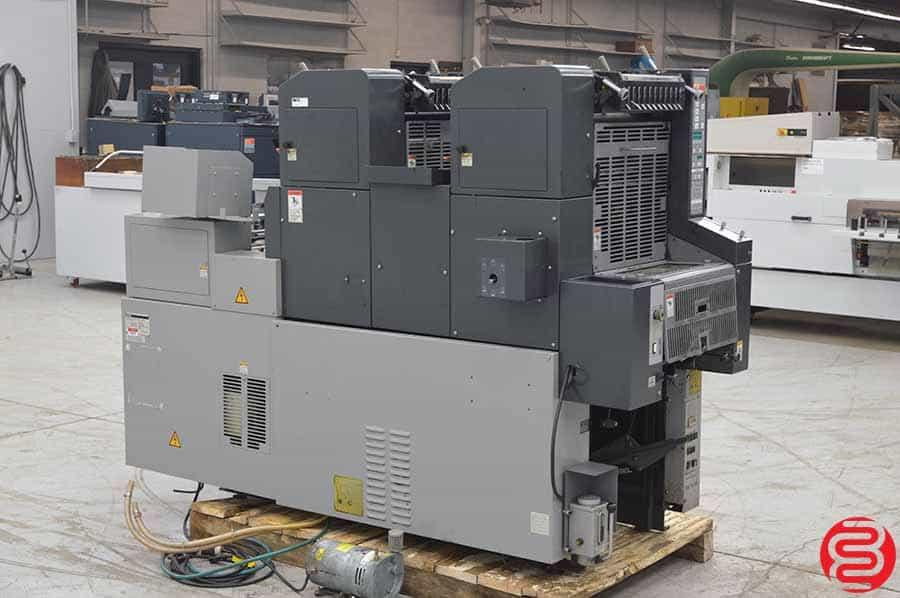 AB Dick (Ryobi) 9995A Two Color Offset Press