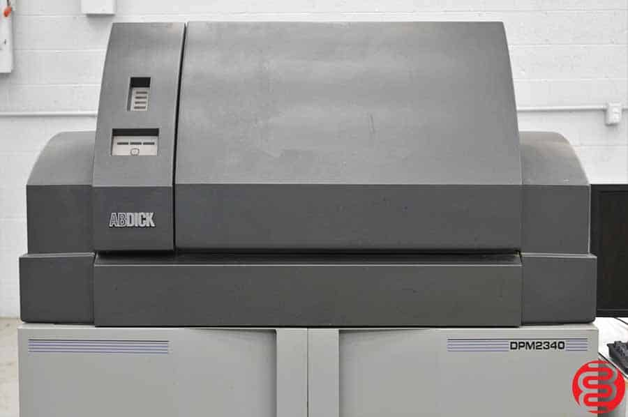 AB Dick Digital Platemaster 2340 Computer to Plate System w/ Rip