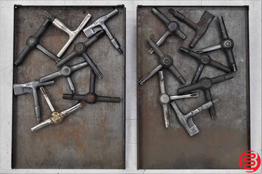 Assorted Letterpress Quoin Keys