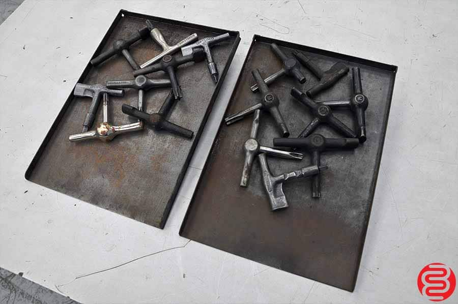 Assorted Letterpress Quoin Keys