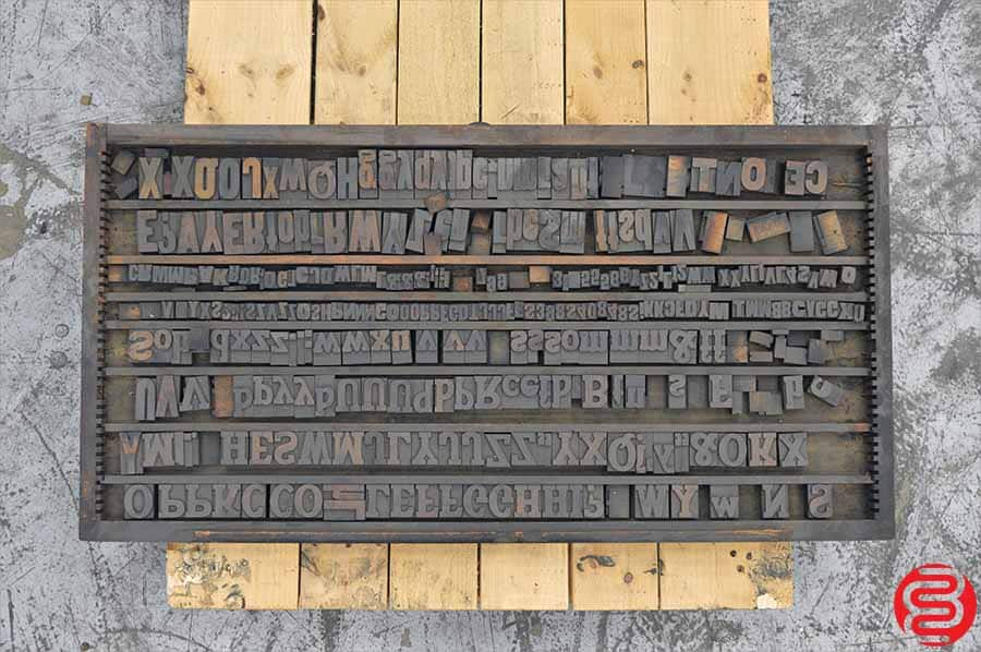 Assorted Wood Type Font