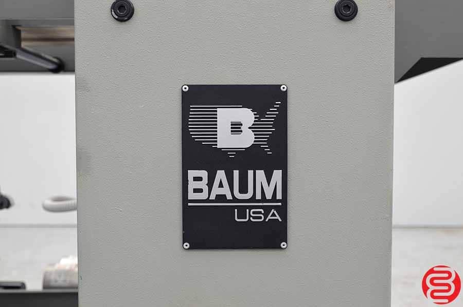 1999 Baum 2018 Pile Feed Paper Folder w/ 8 Page Unit