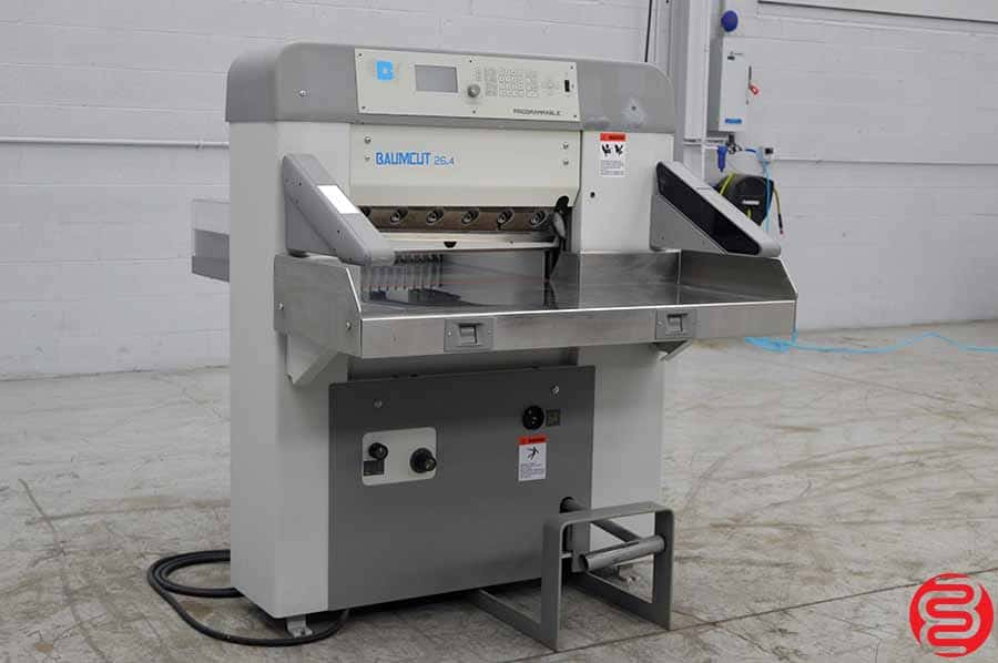 "2000 Baumcut Model 66 26.4"" Programmable Paper Cutter (Same as Polar) w/ Safety Lights"