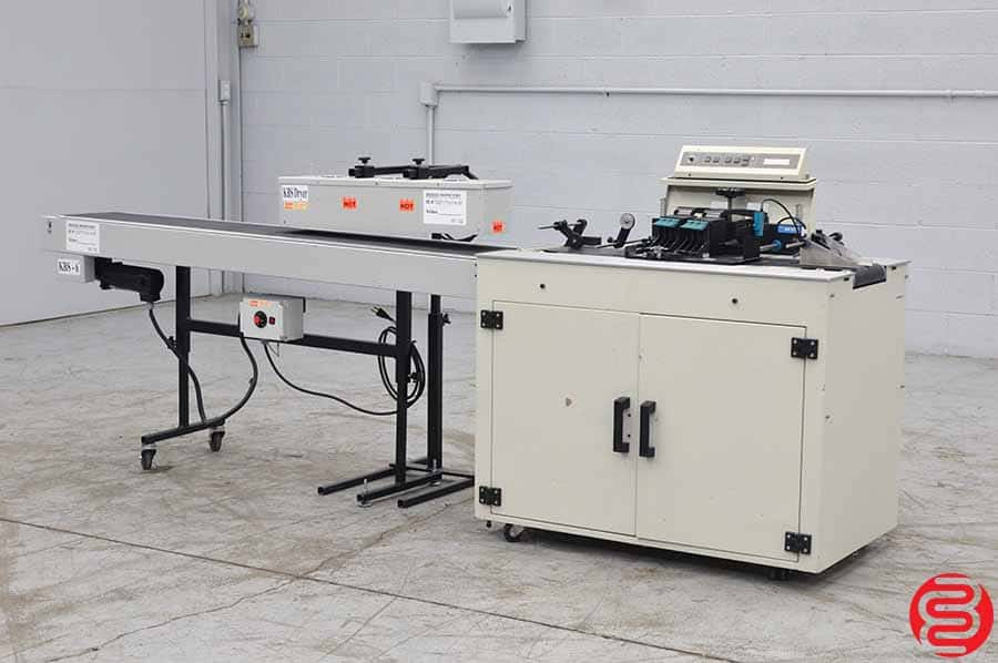 Bryce 24K InkJet Address Labeling System w/ KBS 6' Conveyor and Dryer