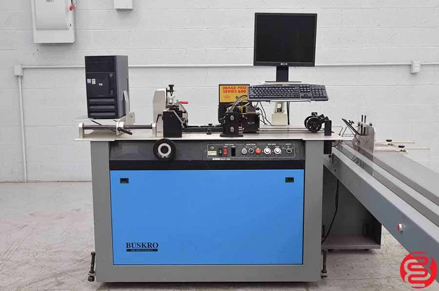 Buskro BK 400 Inkjet Addressing System w/ BK 1600 Conveyor