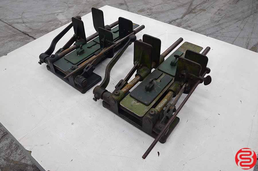 Two C.F. Anderson & Co Manual Bander Press