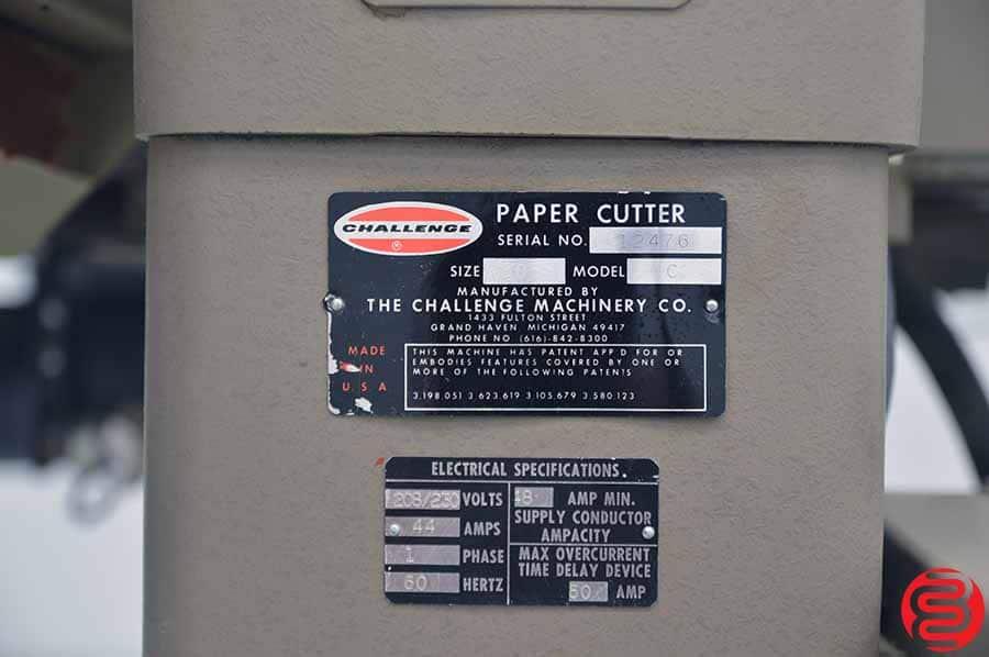 "Challenge 305 MC 30.5"" Paper Cutter w/ Microcut Jr"