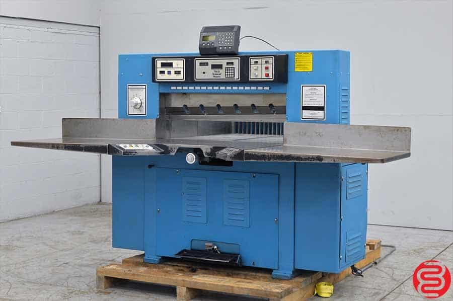 "Challenge 420 TCM Programmable Hydraulic 42"" Paper Cutter w/ MicroCut"