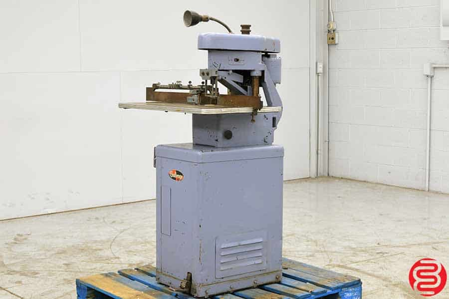 Challenge Model E Single Spindle Paper Drill