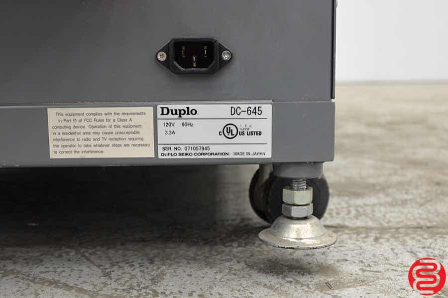 Duplo DC-645 Heavy Duty Slitter Cutter Creaser