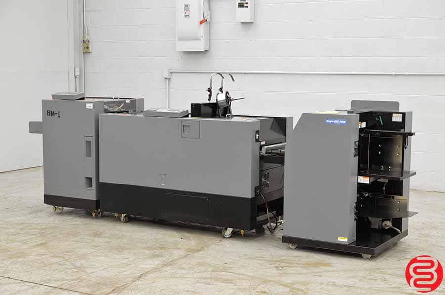 Duplo DSF-2000 Booklet Making System w/ Trimmer, Stitcher, Folder