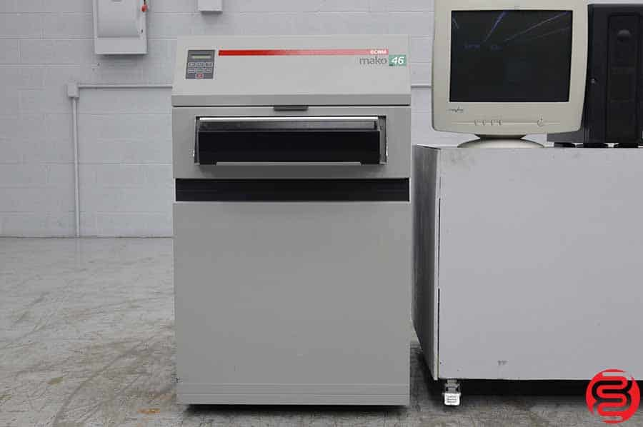 ECRM MAKO 46 Computer to Plate System w/ Rip