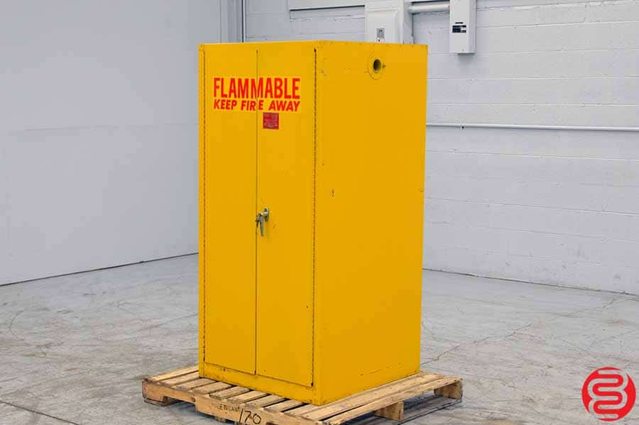 Eagle Fire Safe Vertical Drum Storage Cabinet