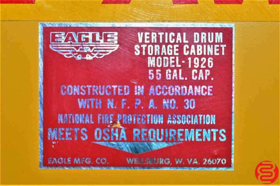 Eagle Fire Safe Vertical Drum Storage Cabinet