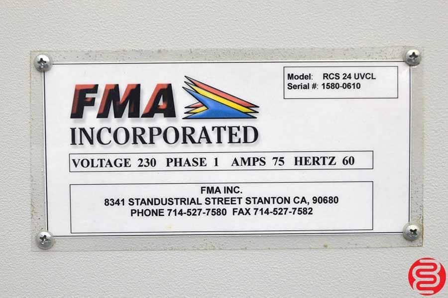 FMA RCS 24 UV Coater