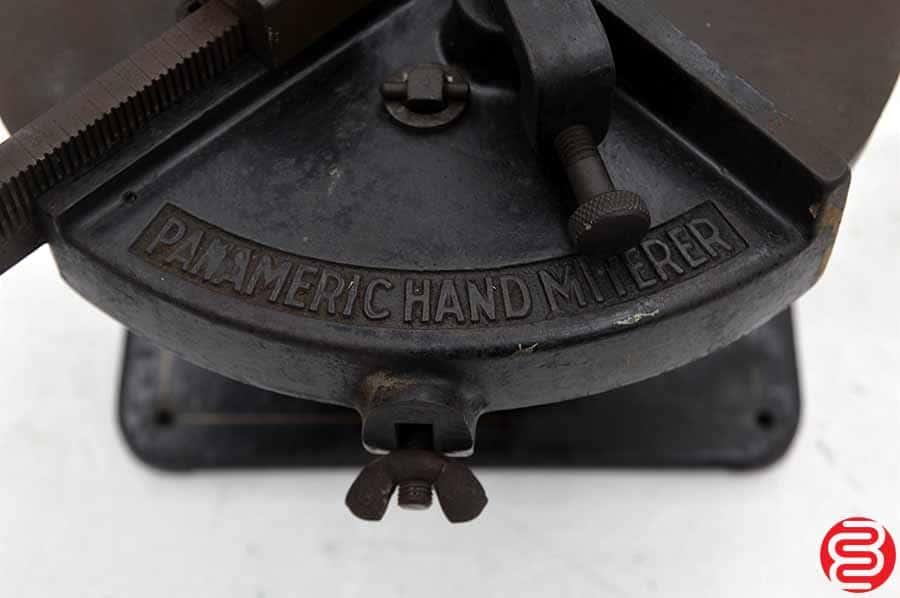 H.B Rouse Panameric Hand Miterer