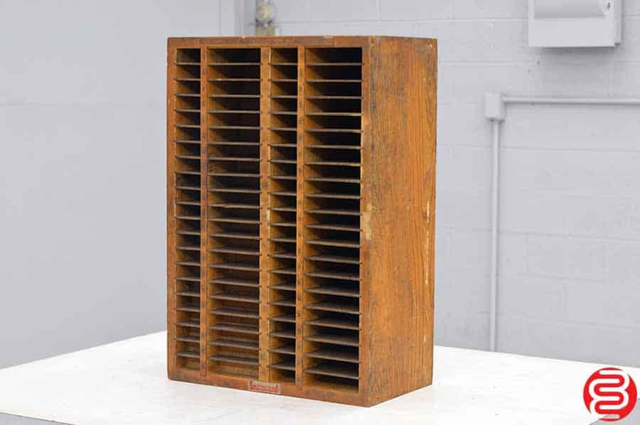 Hamilton Letterpress Furniture Cabinet