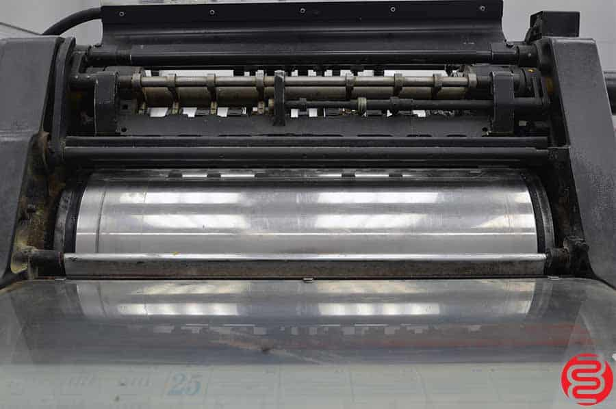 "Heidelberg KORD Printing Press 18 X 25 1/4"" - Long Box"