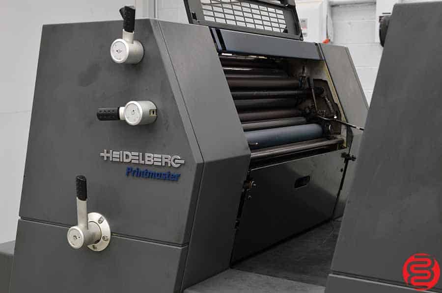2002 Heidelberg Printmaster 52-2 GTO Two Color Offset Printing Press