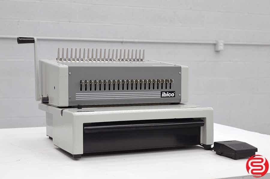 Ibico EPK-21 Electric Comb Punch w/ Foot Pedal