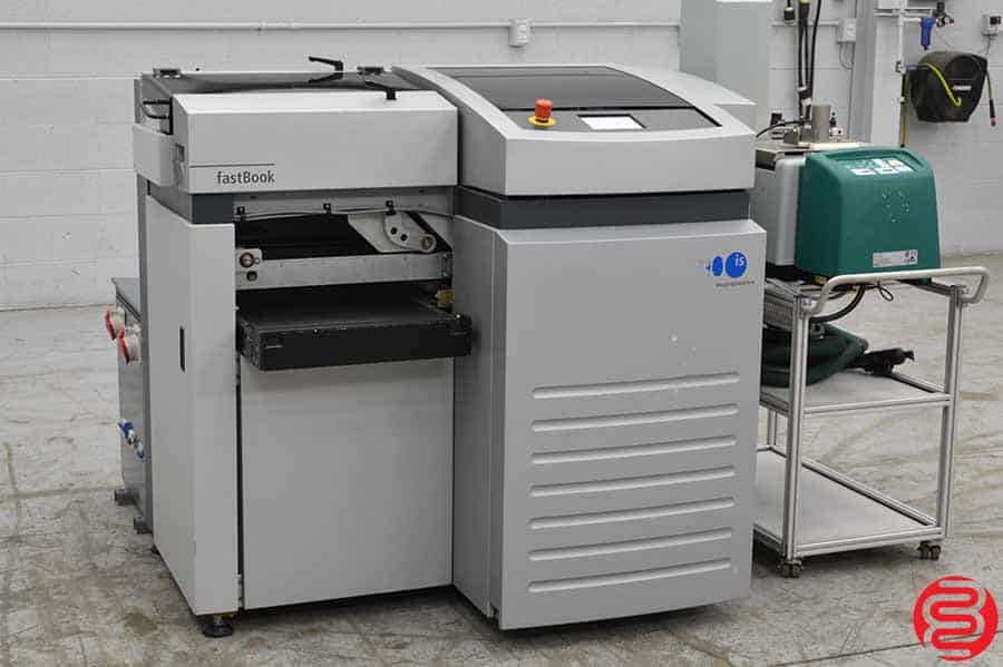Imaging Solutions FastBook Evolution Book Binding Machine w/ Robatech Gluer