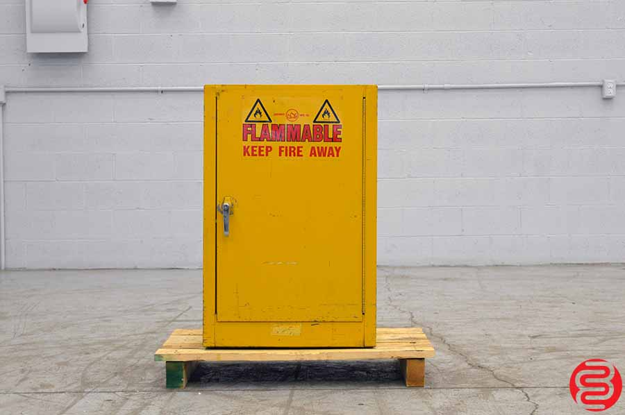 Justrite Fire Safe Chemical Cabinet