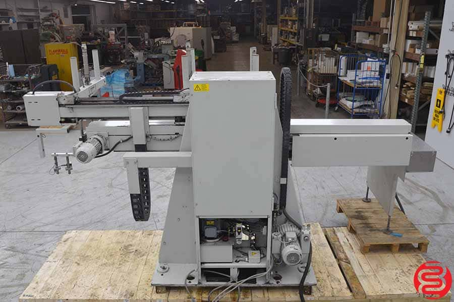 2001 Knorr ABS-110-4-RGL Right Hand Unloader