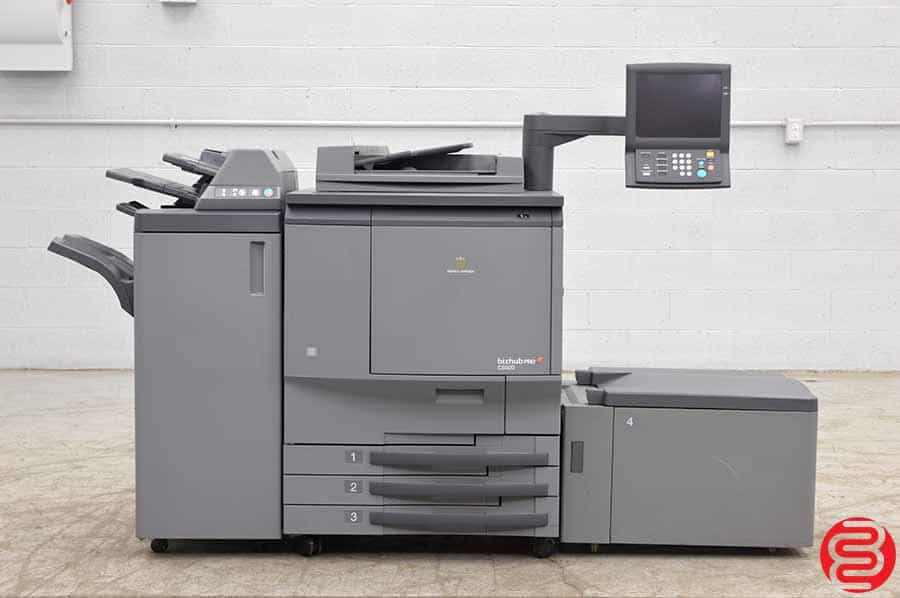 2008 Konica Minolta Bizhub Pro C6500 Color Digital Press