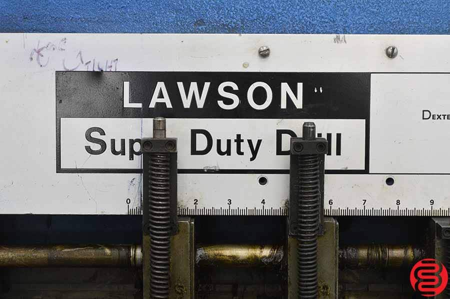 Lawson Super Duty Automated In-line Hydraulic Paper Drill