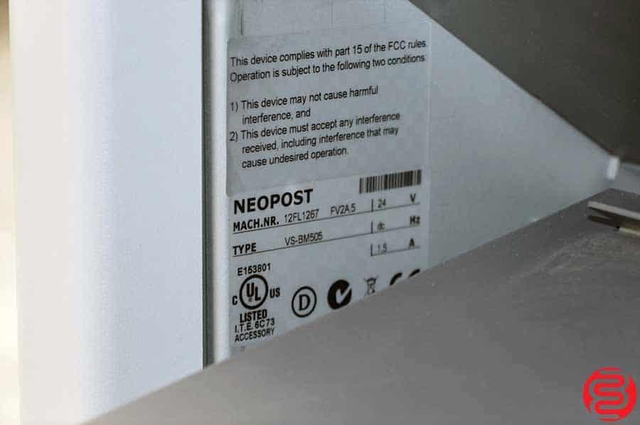 Neopost VS Mail Folder Inserter