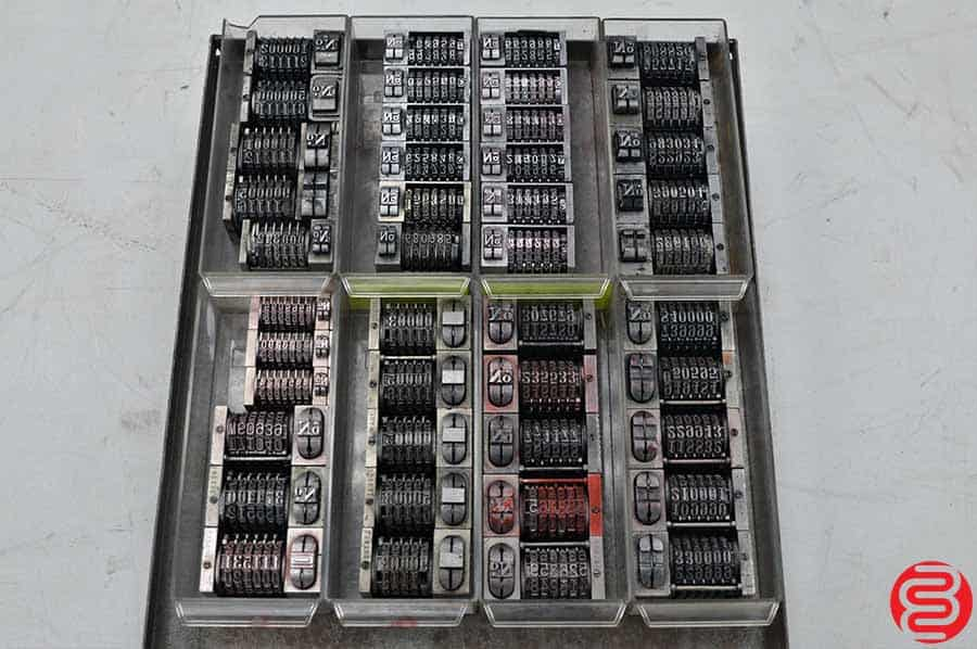 Numbering Machines - Qty 40