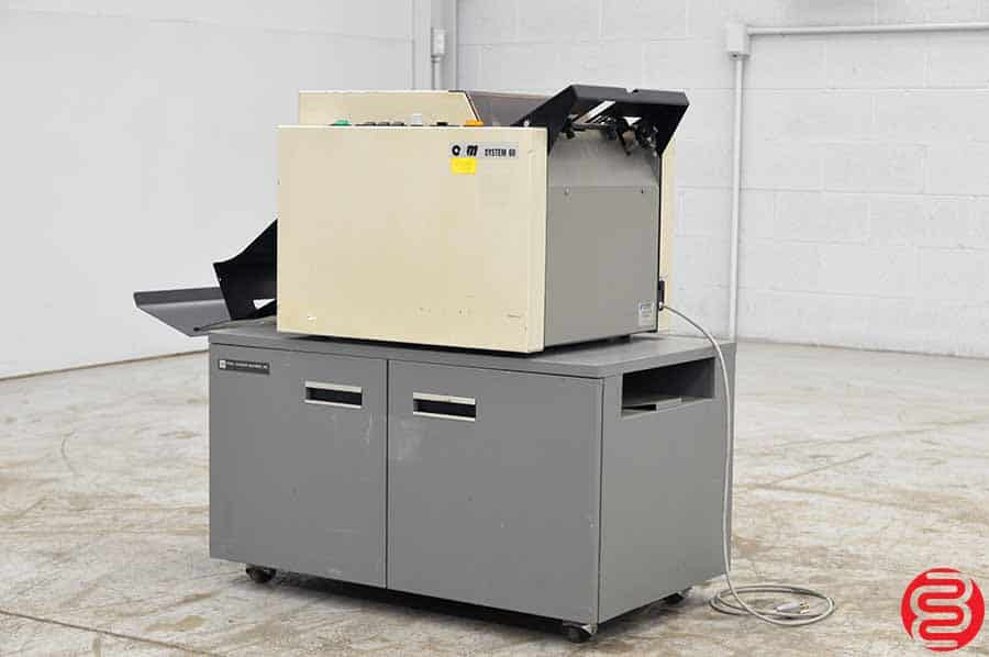 O & M Plockmatic 60 Booklet Making System