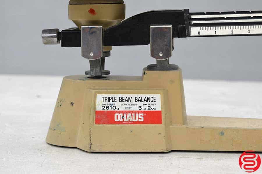 Ohaus Triple Beam Mechanical Balance Scale - 2610g